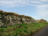Reculver ;a  section  of  Roman  Fort  wall.