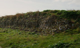 Reculver ;another  section  of  Roman  Fort  wall.