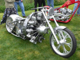 Radial  motorcycle.