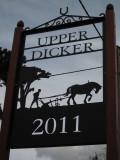 Upper  Dicker  village  sign.