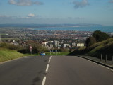 Eastbourne  and  beyond , looking  east.