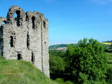 Clun Castle.