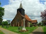C 11th  century  St. Giles  church, Mountnessing.