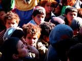 Afghan children waiting for medical treatment.jpg