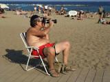francotirador de playa
