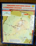 Tongariro Track Map