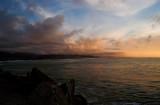 greymouth pier sunset