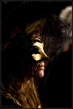 Lady in gold mask