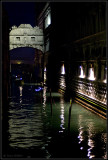 Bridge of Sighs at night (from the back)