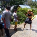 Songkran fun - Soaked