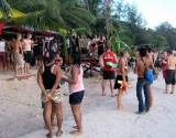 Songkran fun - at the bar