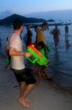 Songkran fun - into the evening