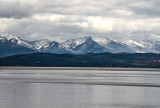 1st Snow in the Mission Mts - Flathead Lake,  Montana