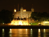 London Tower across the Thames