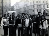Me in the front center in Moscow ... when it was the Soviet Union. Strange and wonderful trip!