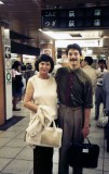 1985: With my Aunt in Tokyo on the way to teach English