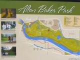 Three of my photos on an Alton Baker Park sign