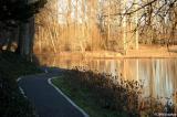 Path along pond