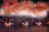 More fireworks, more smoke.