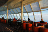 Sunrise viewers in the Navigator Club See the place