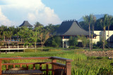 View of the Main Pavilion from our Lagoon Casita