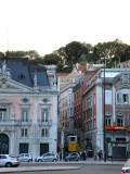 the Elevador da Gloria funicular up to the Bairro Alto