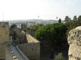 looking from the castelo walls toward the north