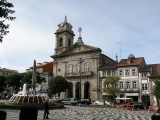 Largo do Toural in Guimaraes, in the Minho
