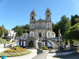 the sanctuary of Bom Jesus do Monte