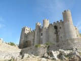 the castelo in Obidos