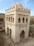 the Almoravid Koubba, a 12th-c. water building