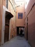 the side streets are always quieter, but often dead-end