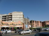 ...in the new part of Marrakech