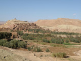 the old ksar  and kasbah at Ait-Benhaddou...
