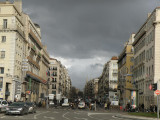 looking up the Canebiere boulevard