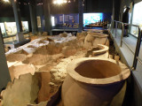 in the museum of the Roman docks