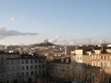 leaving Marseille - the view from the train station