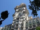 the Palacio Barolo, outside...