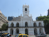 continuing to el Cabildo, a governmental building from colonial times