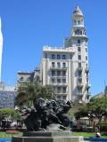 at the Plaza Fabini