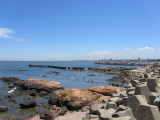 looking back toward Montevideo's old town...