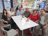 3524: Marla with Diana's sister Sylvia, Diana's brother Luis, Diana's husband Daniel, Diana, Luis's son Tomas