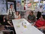 3535: Marla with Sylvia's daughter, Sylvia, Luis, Diana