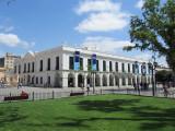 the historic Cabildo, also finished 18th c.