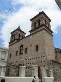 in the Jesuit block; here, the Iglesia de la Compañía de Jesús