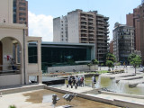 at the Paseo del Buen Pastor, a city cultural center