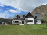 the park visitor's center in the town of El Chalten