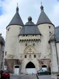 here's the Craffe Gate, part of the original city defense