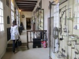 in the museum, traces of the town's long history
