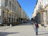 ...as the next morning, we plan a walking tour of Nancy's Art Nouveau buildings
